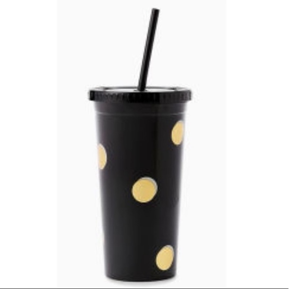 Kate Spade New York Insulated Tumbler with Straw